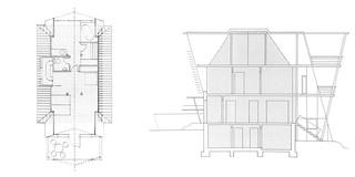Erweiterung, Stahltragwerk, Glasfassade, Terrasse, Privat, Wohnen, Architektur, KTP, Kauffmann Theilig Partner, Freie Architekten PartGmbB, Stuttgart, Einfamilienhaus, Wohnhaus, Haus,