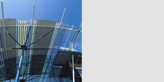 Erweiterung, Bauabschnitte, Modular, Stahltragwerk, Glasfassade, Flachdach, Privat, Großprojekt, Produktion, Entwicklung, Büro, Verwaltung
