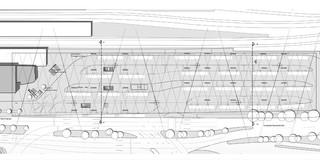 Innerstädtisch, Erweiterung, Konzept, Städtebau, Modular, Stahltragwerk, PVC-Folie, Platz, Öffentliche Hand, Aufenthalt, Überdachung, Transport
