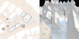 Innerstädtisch, Denkmalschutz, Sanierung, Erweiterung, Konzept, Städtebau, Betontragwerk, Glasfassade, Plätze, Garten, Großprojekt, Öffentliche Hand, Büro, Verwaltung, Service, Kindergarten