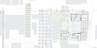 Neubau, Bauabschnitte, Konzept, Städtebau, Freiform, Stahl-Beton-Tragwerk, Glasfassade, Dachbegrünung, Parkhaus, Sportflächen, Privat, Kindertagesstätte, Fitness,Architektur, KTP, Kauffmann Theilig Partner, Freie Architekten PartGmbB, Stuttgart