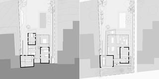 Neubau, Betontragwerk, Glasfassade, WDVS, Strukturputz, Garten, Privat, Wohnen, Architektur, KTP, Kauffmann Theilig Partner, Freie Architekten PartGmbB, Stuttgart, Einfamilienhaus