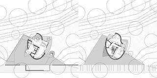 Einfamilienhaus, Neubau, Freiform, Betontragwerk, Holztragwerk, Flachdach, Dachbegrünung, Garten, Terrasse, Balkone, Privat, Wohnen, Architektur, KTP, Kauffmann Theilig Partner, Freie Architekten PartGmbB, Stuttgart,