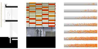 Neubau, Konzept, Farbe, Betontragwerk, Glasfassade, Lamelle, Atrium, Privat, Büro, Verwaltung, Konferenz, Architektur, KTP, Kauffmann Theilig Partner, Freie Architekten PartGmbB, Stuttgart