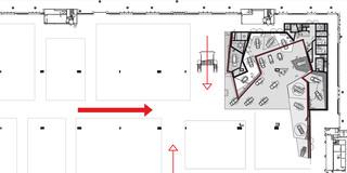 Neubau, Innenraum, Modular, Stahl-Holz-Konstruktion, Markenband, LED, Lichtinstallation, Privat, öffentlich zugänglich, Ausstellung, Shop, Café, Mercedes Benz, Architektur, KTP, Kauffmann Theilig Partner, Freie Architekten PartGmbB, Stuttgart,
