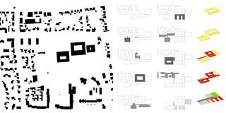 Erweiterung, Konzept, Bauabschnitte, Betontragwerk, Glasfassade, Flachdach, Park, Privat, Großprojekt, Klinik, Mensa, Büro, Verwaltung, Therapie, Chirurgie,  Architektur, KTP, Kauffmann Theilig Partner, Freie Architekten PartGmbB, Stuttgart, Städtebau, Modell, Schwarzplan, Grundriss