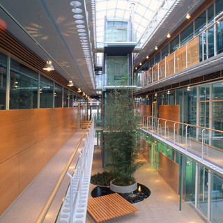 Architektur, KTP, Kauffmann Theilig Partner, Büro, Stuttgart, Atrium, Generalplaner, Projektentwicklung, Bauleitung, Planung,  Architekt,