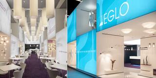 Ausbau, Temporär, Innenraum, Modular, Wiederverwertbar, Stahltragwerk, Textil, Privat, öffentlich zugänglich, Ausstellung, Café