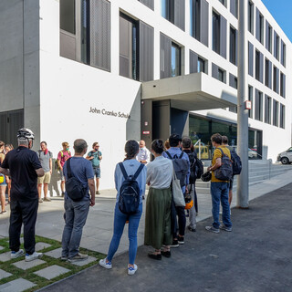 KTP, Sommer, Exkursion, E-Bike, John-Cranko-Schule, Stuttgart, Führung, Büroleben