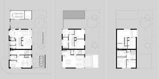 Neubau, Betontragwerk, WDVS, Balkone, Garten, Bauträger, Wohnen, Stadthaus, Architektur, KTP, Kauffmann Theilig Partner, Stuttgart,