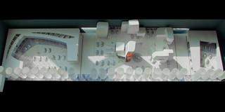Ausbau, Temporär, Konzept, Innenraum, Farbe, Holz-Stahl-Tragwerk, Privat, öffentlich zugänglich, Ausstellung, Shop, Büro, Café, Architektur, KTP, Kauffmann Theilig Partner, Freie Architekten PartGmbB, Stuttgart